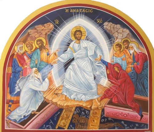 Le Christ est ressuscité Alléluia...